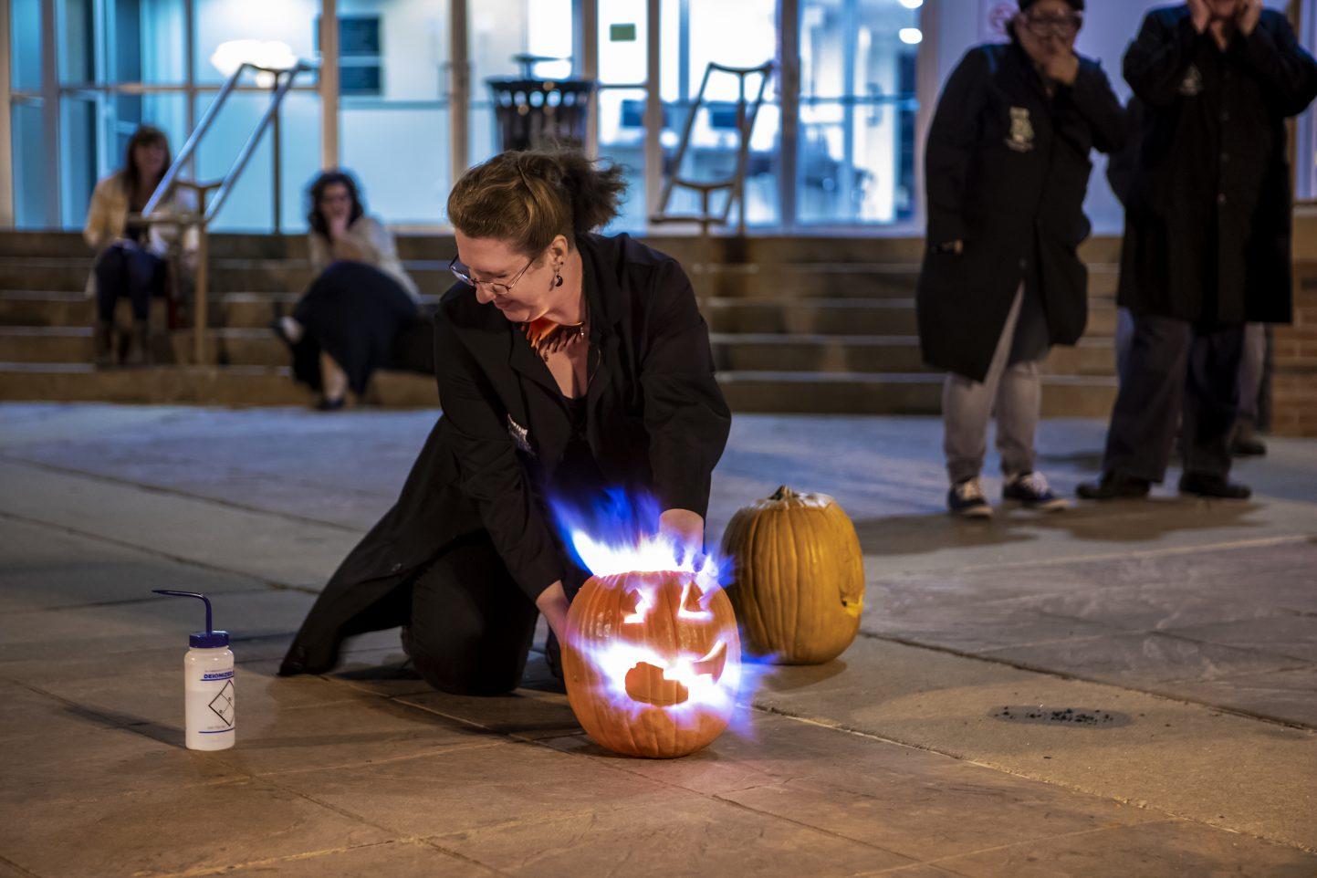 Self Carving Pumpkin WWalton