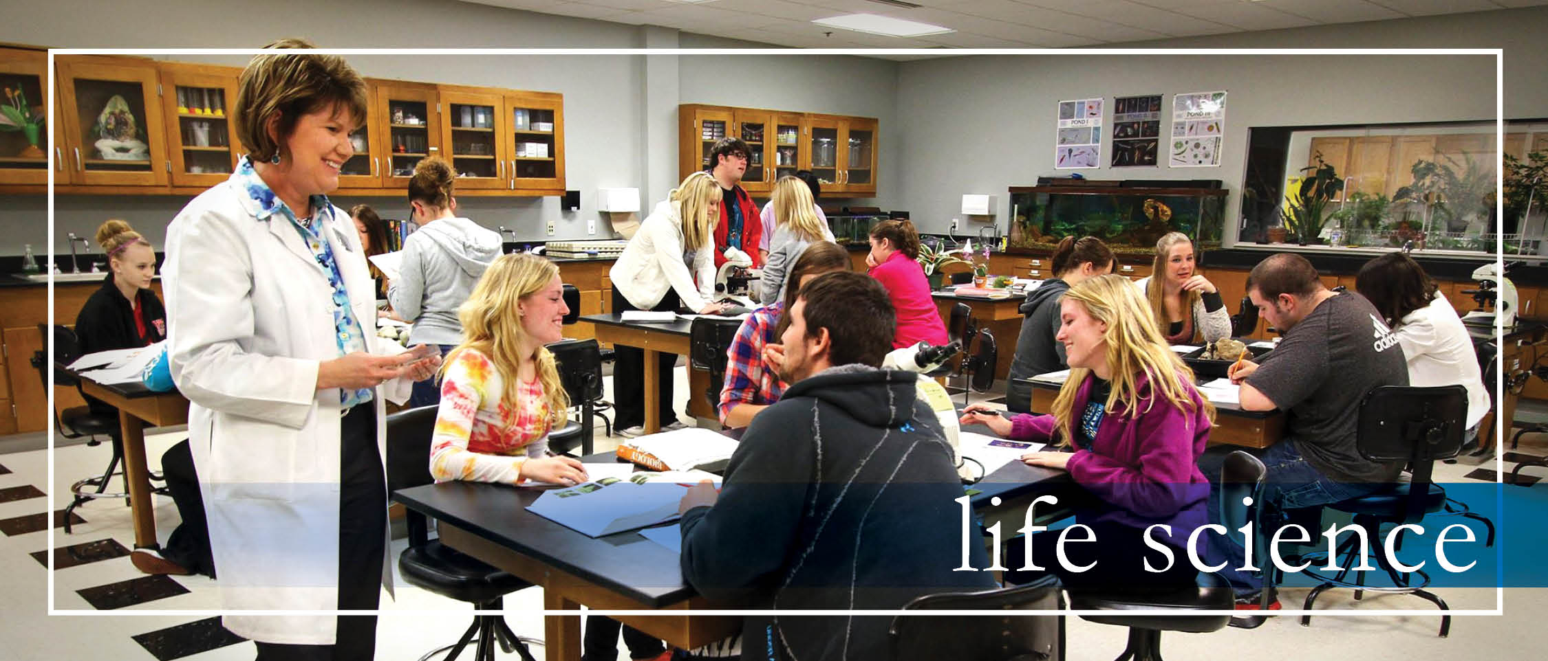 Life Science Main Banner