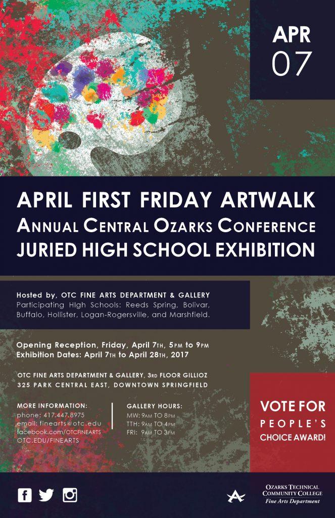 April 2017 Artwalk Poster
