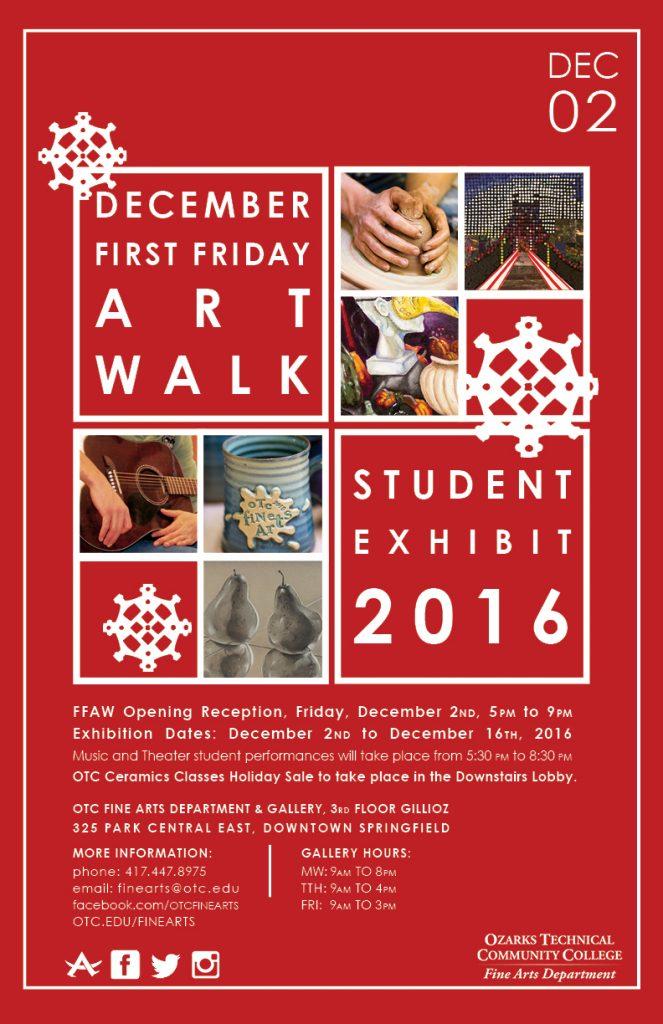 December Art Walk 2016
