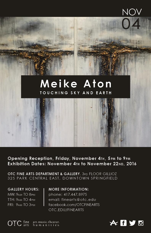 Meike Aton: Touching Sky and Earth