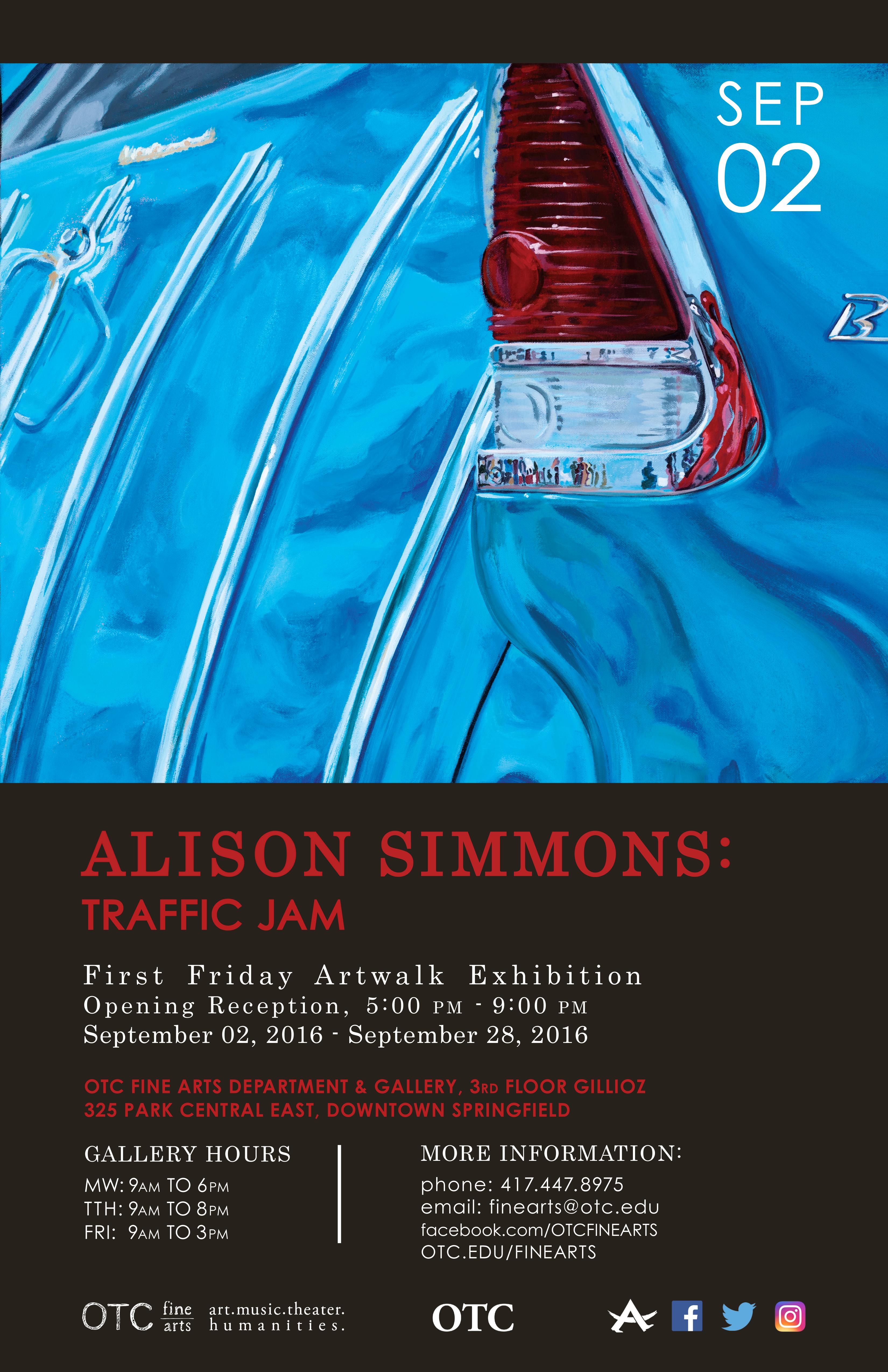 September Art Walk Flyer