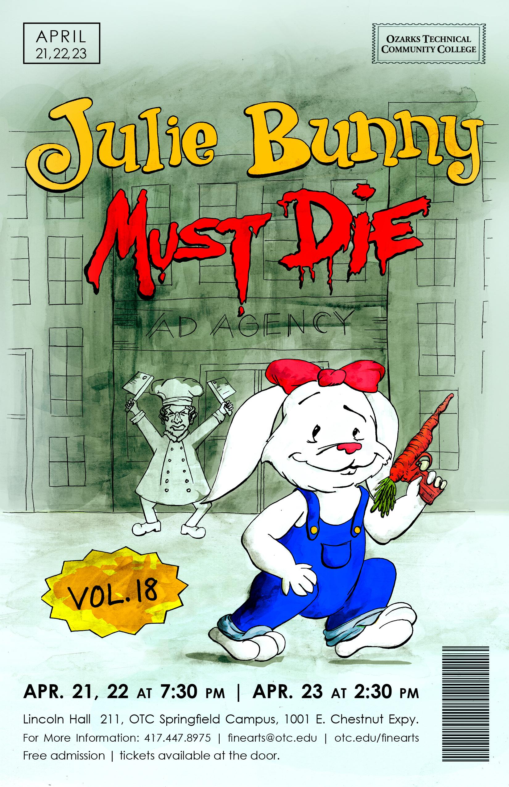 Julie Bunny Must Die! Poster