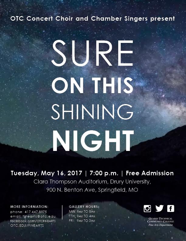 Choir Spring 2017 Poster
