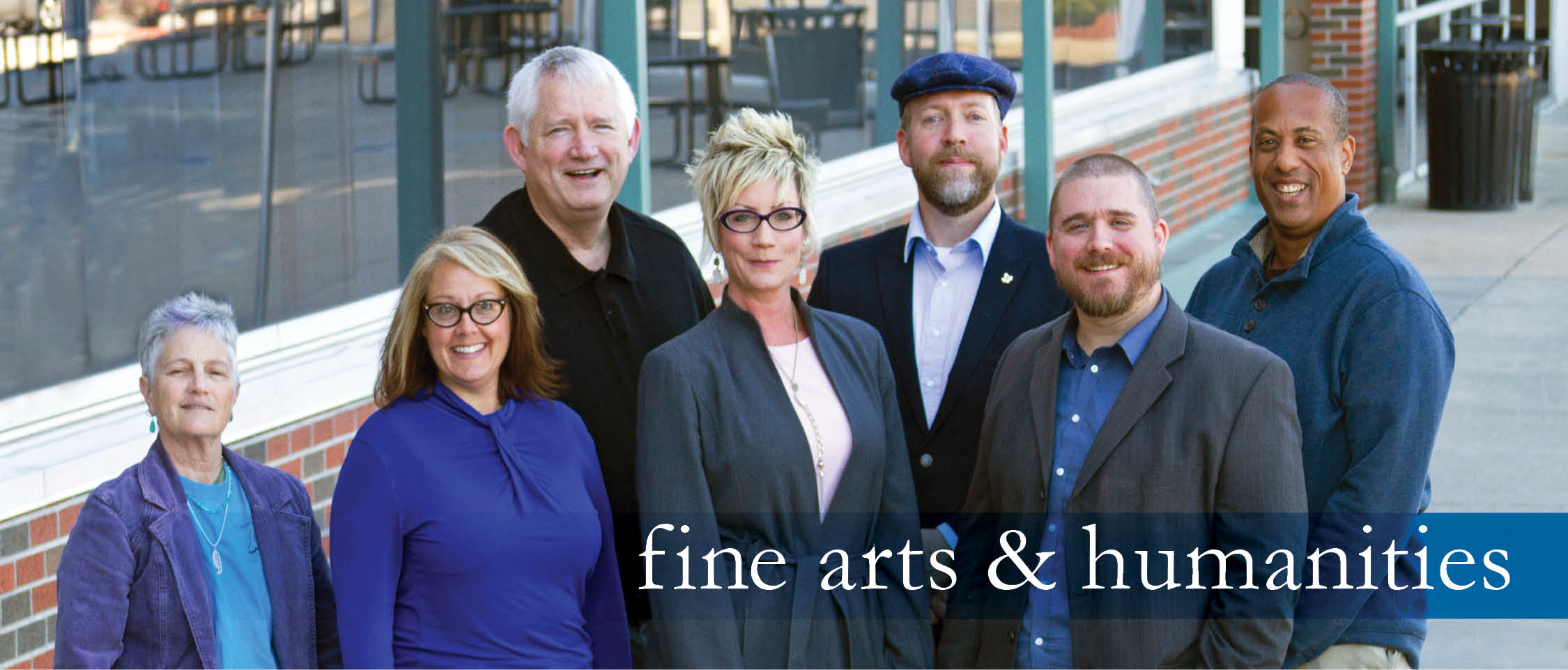 Fine Arts And Humanities Full Time Faculty Banner