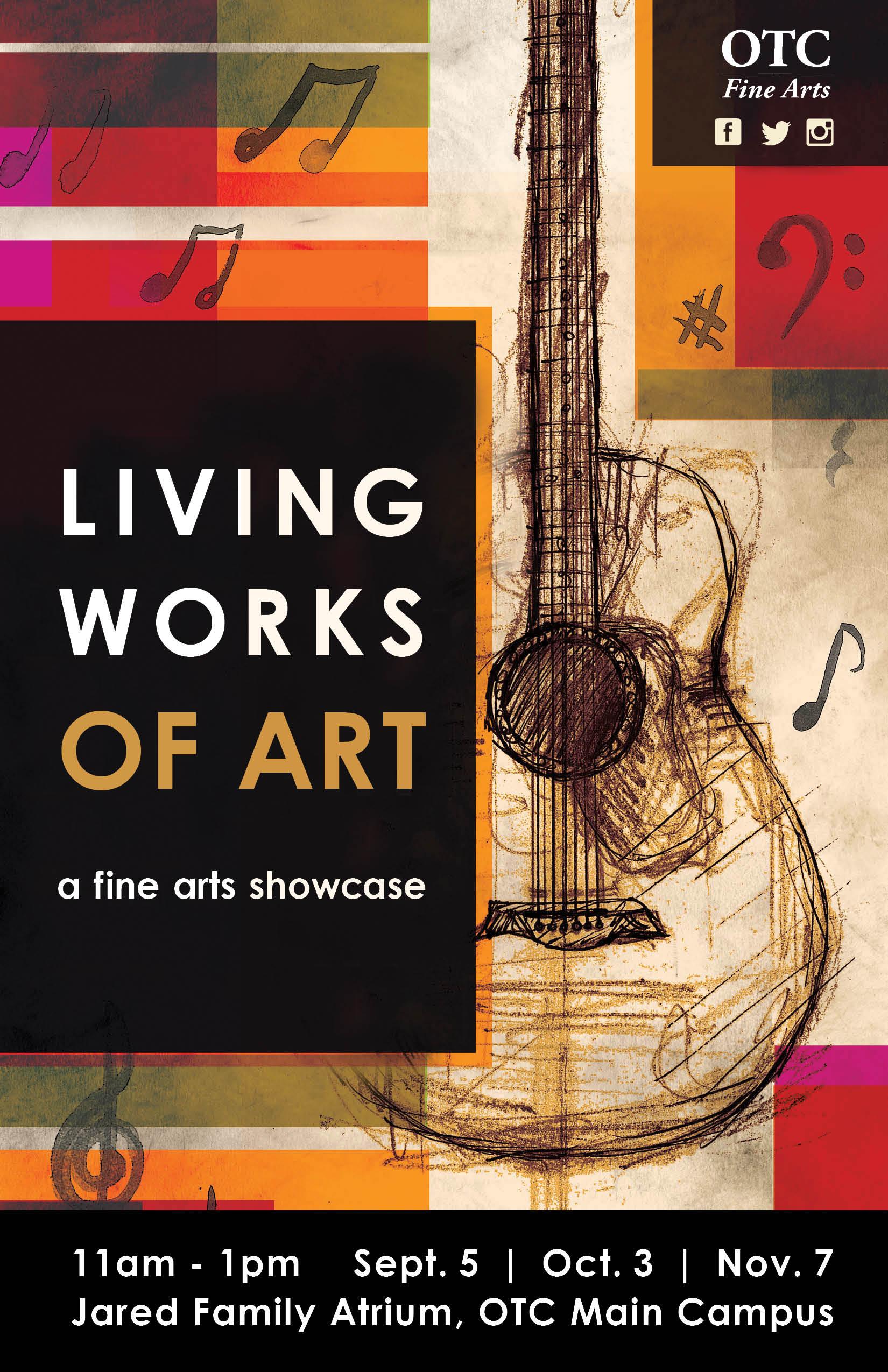 Living Works of Art Poster