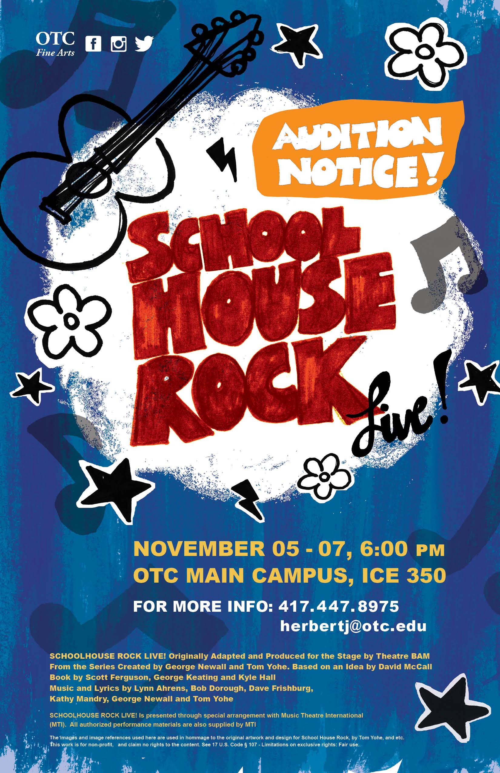 School House Rock Live! Poster