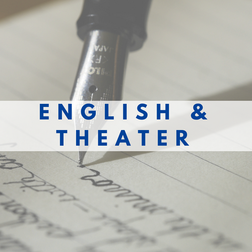 English and Theater