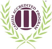 CAHIIM Accredited Logo