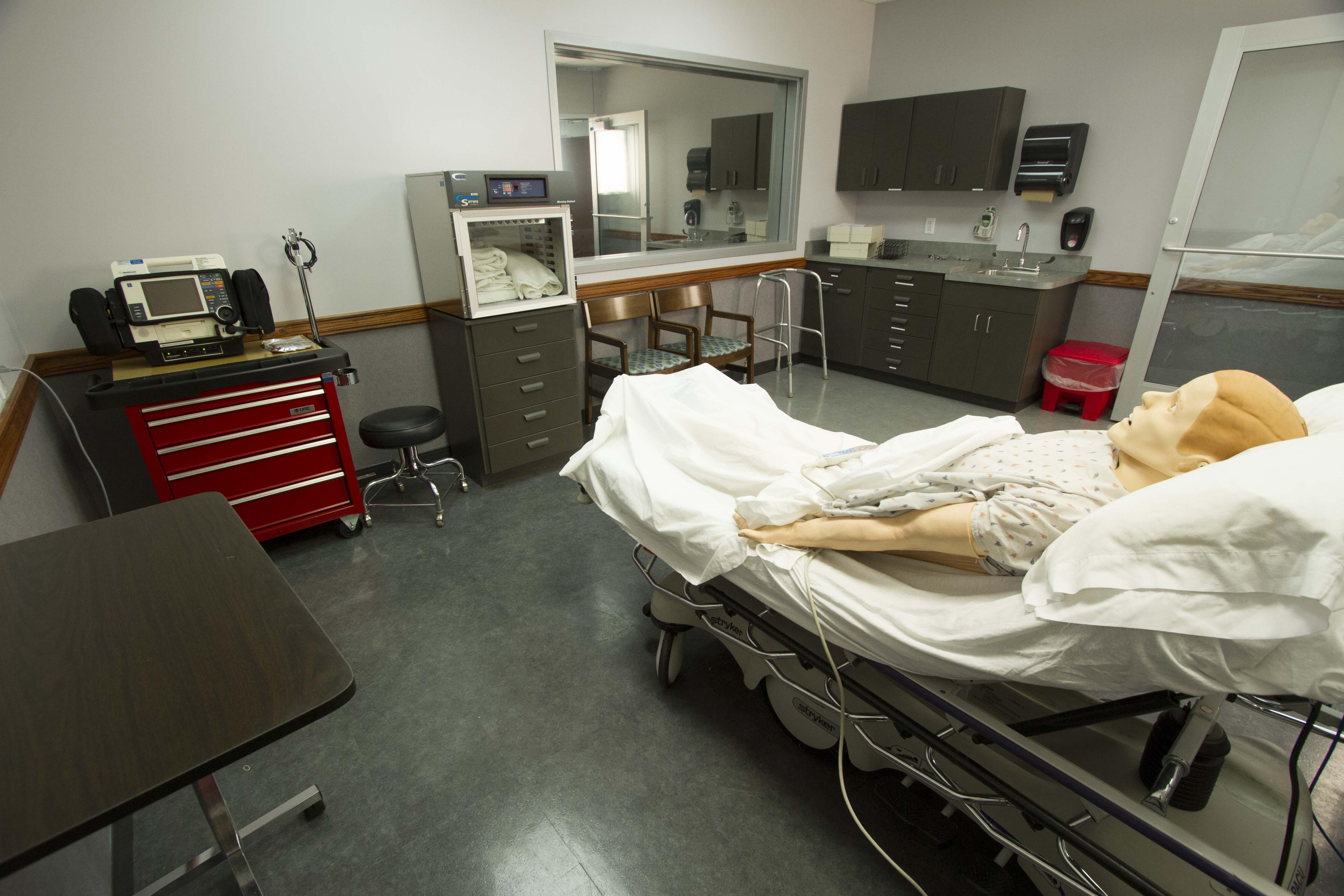 Welcome To The OTC Allied Health Simulation Center